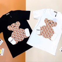 Burberry Patch Embroidered Bear T-shirt