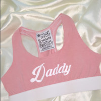 SWEET LORD O'MIGHTY! SUGAR DADDY BRALET IN PINK