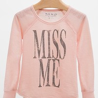 Girls - Miss Me French Terry Sweatshirt