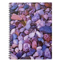 Cool Colored Stones Notebook