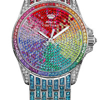 Juicy Couture 'Stella' Crystal Embellished Watch, 40mm   Nordstrom