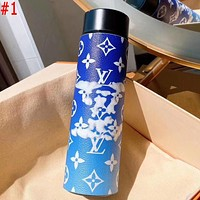 LV Louis Vuitton x MCM x Hermes  Intelligent digital display water cup temperature measuring thermos 304 stainless steel male and female filter tea cup thermos