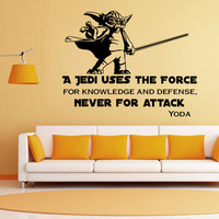 Starwars Living Room Decoration Bedroom Wall Sticker [4919928260]