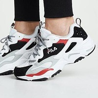 FILA RAY TRACER Fashion Women Men Running Sport Shoes Sneakers