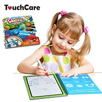 Water Magic Drawing Board Book Kids Magic Pen Painting Coloring Doodle Books Children Education Drawing Toy