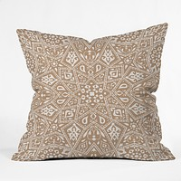 Aimee St Hill Amirah Neutral Throw Pillow