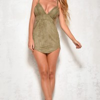 Casting Call Dress Khaki
