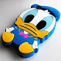 SALE30-70%OFF: Very Cute Baby Donald 3D iPhone 4 and iPhone 5 soft protective cases