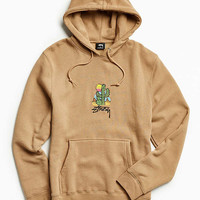 Stussy Embroidered Cactus Hoodie Sweatshirt | Urban Outfitters