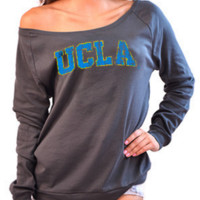 UCLA Bruins Off the Shoulder Long Sleeve