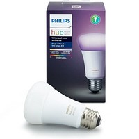 Philips Hue White and Color Ambiance 3rd Generation A19 60W Equivalent Dimmable LED Smart Bulb (Latest Model, Compatible with Amazon Alexa, Apple HomeKit, and Google Assistant)