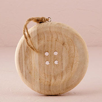 Rustic Button Hanging Decoration