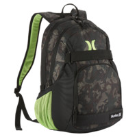 Hurley Honor Roll Printed Men's Backpack (Green)