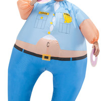 Cop Inflatable Adult Costume One-Size