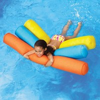 Neo Swimming Pool Floats at Brookstone—Buy Now!