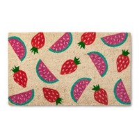 "Mixed Fruits Doormat - (1'6""X2'6"") : Target"