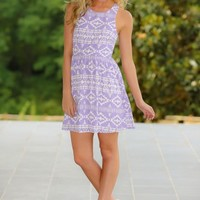 EVERLY:Be A Doll Dress-Lilac