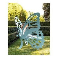 Cricket Forge Large Butterfly Bench-Verdi Color