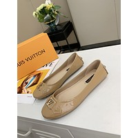lv women casual shoes boots fashionable casual leather women heels sandal shoes 3
