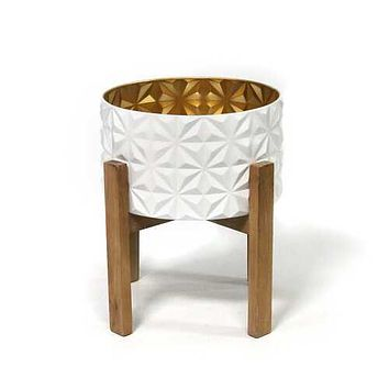 Boho - Chic Planter and Stand