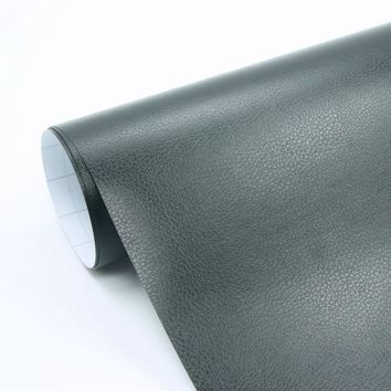 30x150cm Self adhesive pvc leather vinyl wrap for car door edge handle, for dashboard, for car interior decal styling