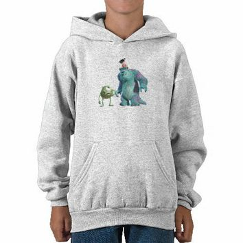 Monsters, Inc.'s Mike, Sulley, and Boo Disney Sweatshirts from Zazzle.com