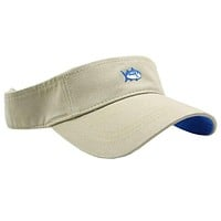 Mini Skipjack Visor in Khaki by Southern Tide