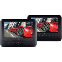"Gpx 7"" Portable Twin Screen Dvd Player"