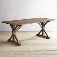 Remington Natural Rectangle Table