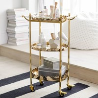 The Emily & Meritt Scallop Beauty Cart