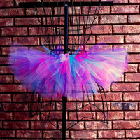 London Tutu - Blue, Pink and Purple Tutu - Available in Infant, Toddlers, Girls, Teenager and Adult Sizes
