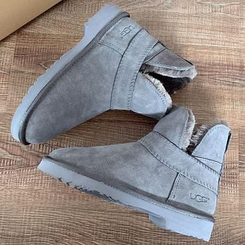UGG Women male Fashion Wool Snow Boots Shoes
