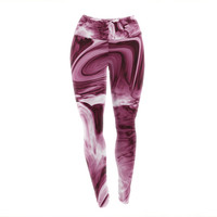 Painted Dreams Unique Urban Yoga Exercise Leggings