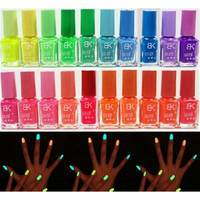 Candy Colors Fluorescent Neon Luminous Nail Art Polish Glow In Dark Varnish 7ML = 1958796292