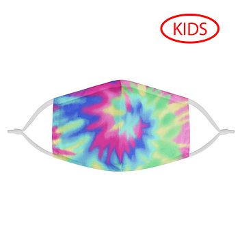 TIE DYE - KIDS MASK WITH (4) PM 2.5 CARBON FILTERS