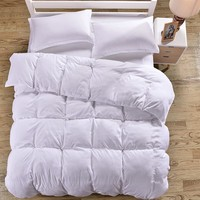Home Textil White bedding set Brushed Microfiber duvet cover 4pcs bed set solid twin full queen king size bedclothes Adult sheet