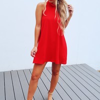 You'll Remember This Dress: Red
