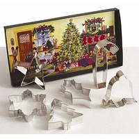 Christmas Cookie Cutters - 2 Sets Available!