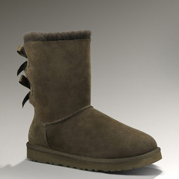 UGG Bailey Bow 1002954 Chocolate Boots [2001009] - $139.00 : UGG,UGG Boots,Cheap UGG Boots , Fast Shipping