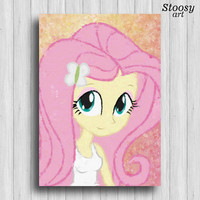 Fluttershy my little pony equestria girls poster
