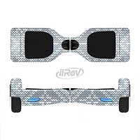 The Knitted Snowflake Fabric Pattern Full-Body Skin Set for the Smart Drifting SuperCharged iiRov HoverBoard
