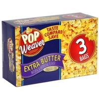 Bulk Pop Weaver Microwave Popcorn with Extra Butter at DollarTree.com