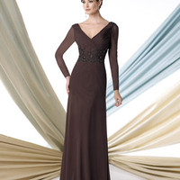 Mother of the Bride Dresses – Montage by Mon Cheri 213976 Long Sleeves