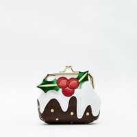 New Look Christmas Pudding Purse
