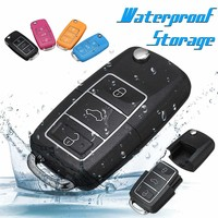 Car Key Safe Compartment Container Waterproof Secret Hide Hollow Stash Tool Key Case for Car Safe Storage Key Container 4 Color