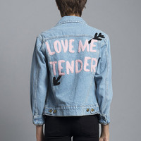 Love Me Tender Denim Jacket