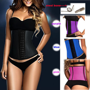 Body Sexy Shaper Waist Rubber Slim Corset [4919576708]