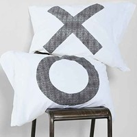 The Rise And Fall XO Pillowcase - Set Of 2- White One