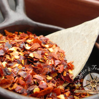 Pepper Chilies - Chili Flakes : Spice and Tea Exchange, Purveyors of fine Spices, Herbs, Teas, & Accessories