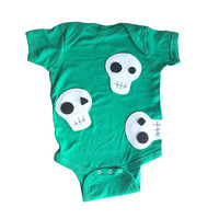 Baby Onesuit - Skulls can be cute...